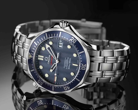"Omega 2220.80 Seamaster, ""Casino Royale"" James Bond watch"