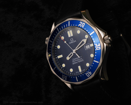 Omega 2541.80 Seamaster James Bond watch