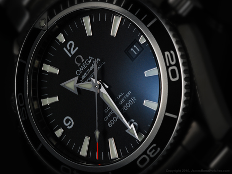 Omega 2201.50 Seamaster Planet Ocean, Quantum of Solace James Bond watch