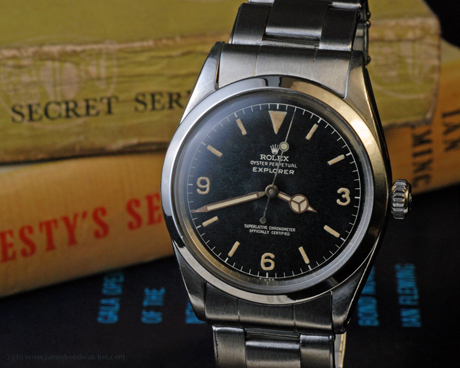 Rolex 1016 Explorer Ian Fleming / literary James Bond wristwatch, produced IV 1960