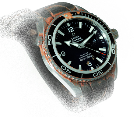 "Omega 2900.50.91 Seamaster Planet Ocean, ""Casino Royale"" James Bond watch"