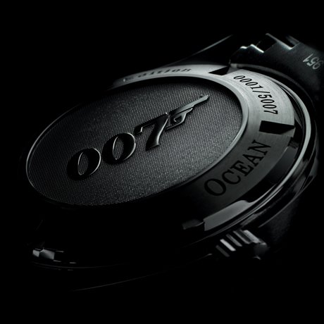 Omega 222.30.46.20.01.001 Planet Ocean licensed James Bond watch