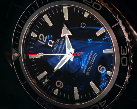 "Omega Seamaster Planet Ocean 2907.50.91 ""Casino Royale"" Limited Edition James Bond watch"