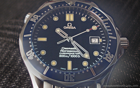 Omega 2531.80 Seamaster James Bond watch a'la Pierce Brosnan as 007