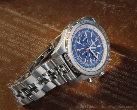 James Bond Breitling watch image: 460x368