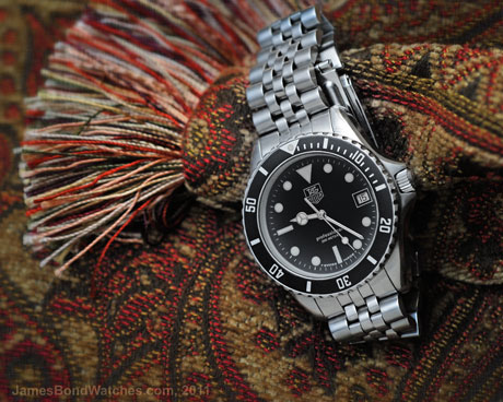 TAG Heuer James Bond diver's watch: 460x368