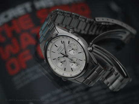 Seiko James Bond watch, Quartz Chronograph: A View to a Kill