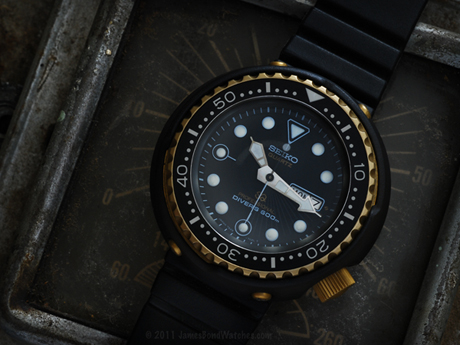 Seiko 600m James Bond diver's watch, For Your Eyes Only: 460x345