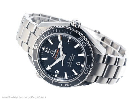 Omega Skyfall titanium Planet Ocean James Bond watch: 460x345