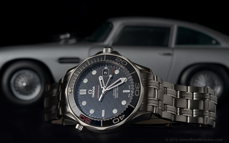 """""""The James Bond 007 50th Anniversary Collector's Piece"""" Omega Seamaster watch"""