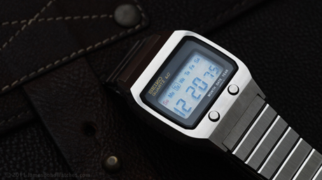 Seiko Quartz LC James Bond digital watch, The Spy Who Loved Me