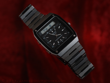 "Seiko duo-display James Bond watch, ""For Your Eyes Only"""