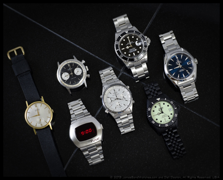 James Bond watches: Latest movie-worn model from each known watchmaker