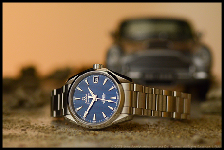 Omega Seamaster Aqua Terra James Bond watch, Skyfall (2012)